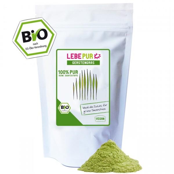 Gerstengras-Pulver Bio 125 g