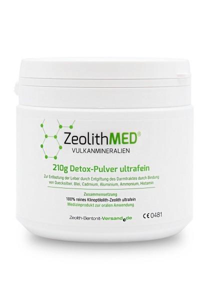 Zeolith MED Detox Pulver 200 g