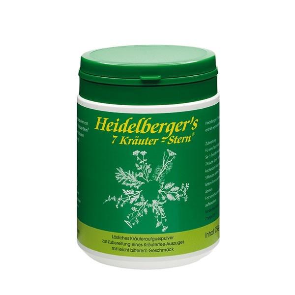 Heidelberger 7-Kräuter wild Bitterpulv.250 g