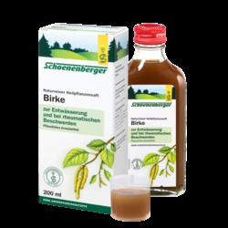 Birkenblätterpflanzensaft 200 ml
